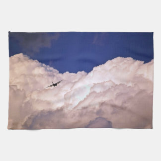 Military Transport Airplane by Shirley Taylor Kitchen Towel