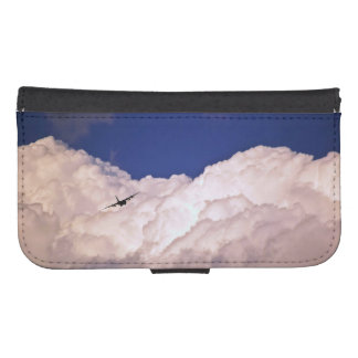 Military Transport Airplane Galaxy S4 Wallet Cases