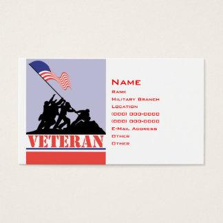 Military Veteran Business Card
