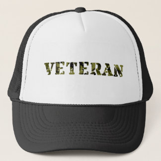 Military Veteran Trucker Hat