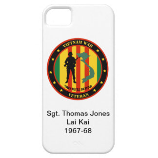 Military Vietnam War Veteran Custom IPhone 5 Case