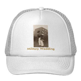 Military Wedding Trucker Hat