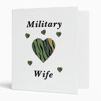 Military Wife Love Binder