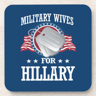 MILITARY WIVES FOR HILLARY DRINK COASTERS