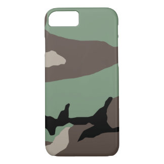 Military Woodland Camouflage iPhone 7 Case