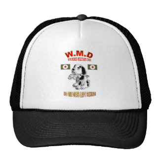 MILITARY WORKING DOGS TRUCKER HAT