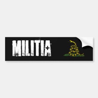 militia Bumper Sticker