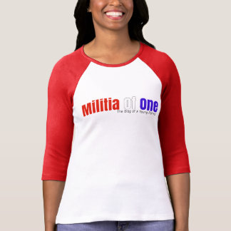 Militia Of One 3/4 Sleeve T-Shirt