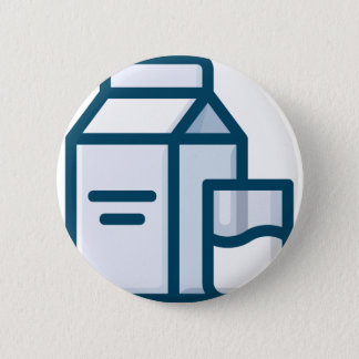 Milk 2 Inch Round Button