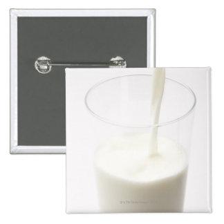 Milk 2 Inch Square Button