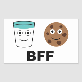 Milk and Cookie-Best Friends Forever Sticker
