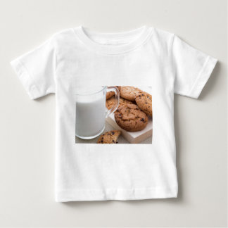 Milk and oatmeal cookies with chocolate baby T-Shirt
