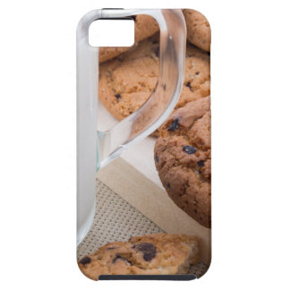 Milk and oatmeal cookies with chocolate iPhone 5 case