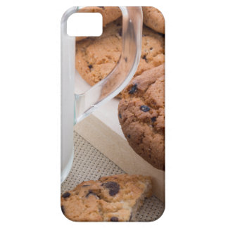 Milk and oatmeal cookies with chocolate iPhone 5 cover