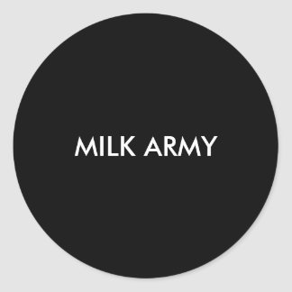 """MILK ARMY"" Sticker"