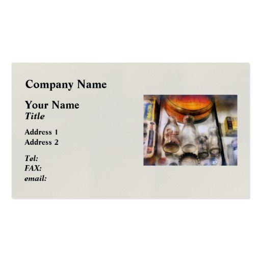 Milk Bottles Business Card Templates