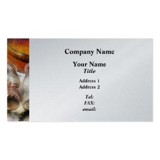 Milk Bottles Business Card Template
