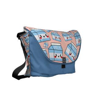 MILK Carton Minis Courier Bag