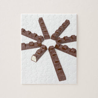 Milk chocolate bars jigsaw puzzle