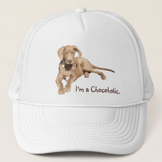 Milk Chocolate Dane - I'm a Chocoholic. Trucker Hat