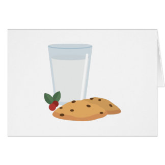 Milk & Cookies Card
