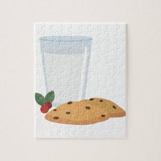 Milk & Cookies Jigsaw Puzzle