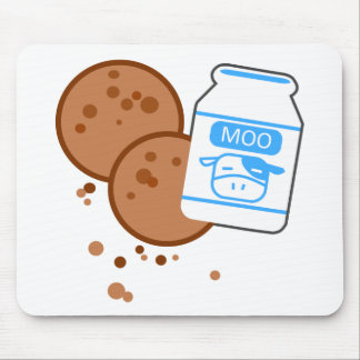Milk & Cookies Mouse Pad