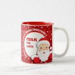 Milk for Santa. Christmas Gift Mugs Coffee Mugs