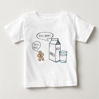 Milk & Ginger - White Kids T-shirt