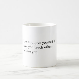Milk & Honey Quote Coffee Mug