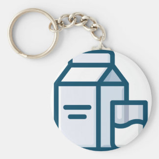Milk Keychain