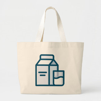 Milk Large Tote Bag
