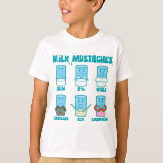 Milk Mustaches T-Shirt