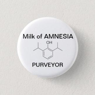 Milk of AMNESIA 1 Inch Round Button