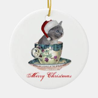 Milk or cookies? Christmas ornament
