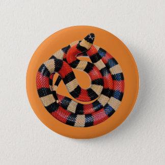 Milk snake 2 inch round button