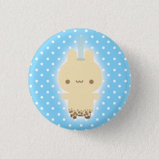 Milk Tea Bunny Button