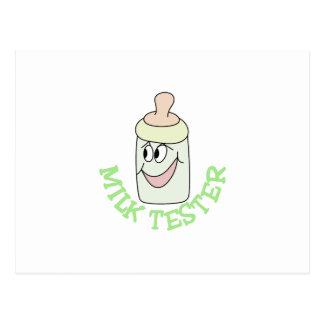 Milk Tester Postcard