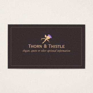 Milk Thistle Natural Health Business Card
