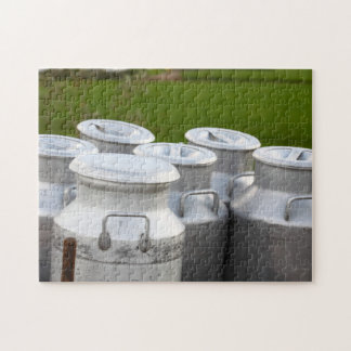 Milk urns jigsaw puzzle