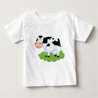milking cow in the garden baby T-Shirt