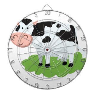 milking cow in the garden dartboard
