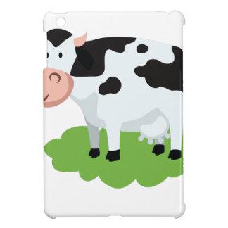 milking cow in the garden iPad mini cover