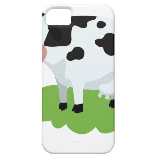 milking cow in the garden iPhone 5 cover