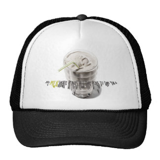 Milkshake Breastfeeding Tee - Grellow Hat