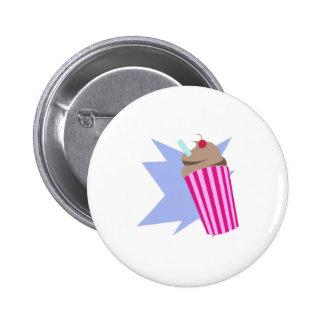 Milkshake Pinback Button