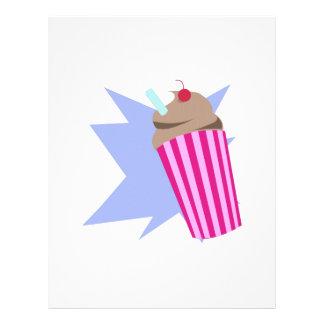 Milkshake Letterhead Design