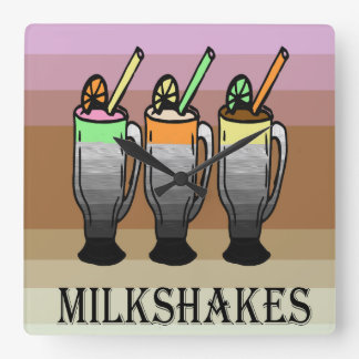 Milkshake Lover Clock