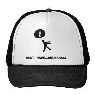 Milkshake Lover Mesh Hats
