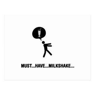 Milkshake Lover Postcard